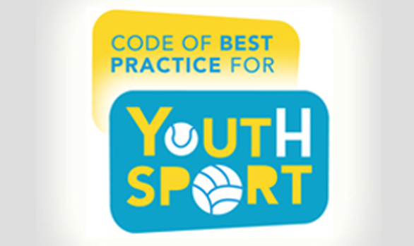 CODE OF BEST PRACTICE FOR YOUTH SPORT