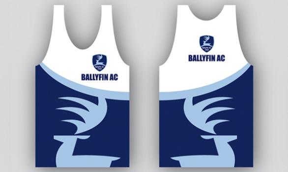 Ballyfin AC Singlet